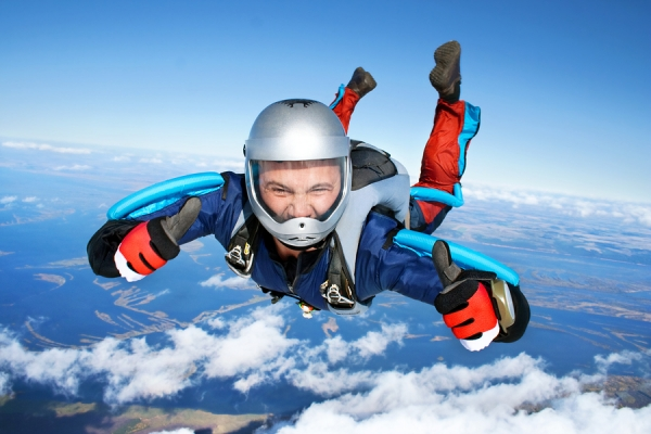 Sky diving sports insurance