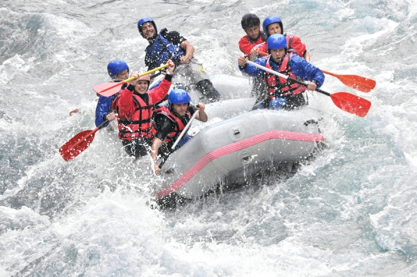 White water rafting sports insurance
